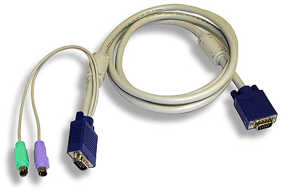 Sylphit Integrated PS/2 KVM Cable