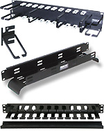 Rack-Mount Cable Organizers