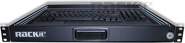 KR2 Keyboard/Mouse Tray, front view